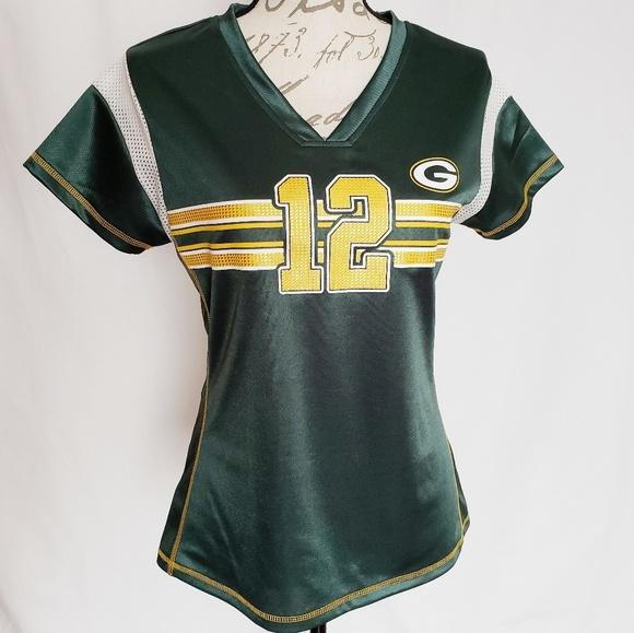 d6f15c216e3 NFL Tops   Green Bay Packers Aaron Rodgers Jersey Sz S   Poshmark